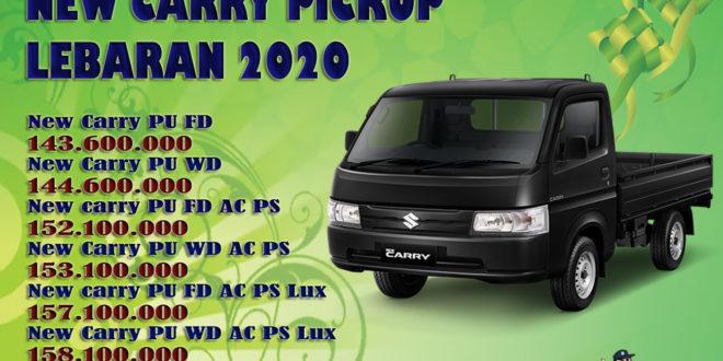 HARGA SUZUKI NEW CARRY PICKUP LEBARAN 2020