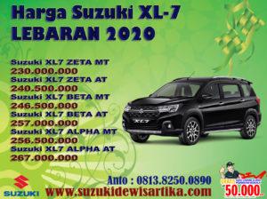 HARGA SUZUKI XL7 LEBARAN 2020