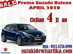 PROMO SUZUKI BALENO APRIL 2020