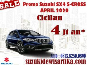 PROMO SUZUKI SX4 S-CROSS APRIL 2020