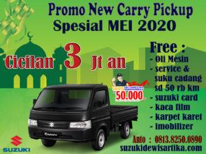 PROMO SUZUKI NEW CARRY PICKUP MEI 2020