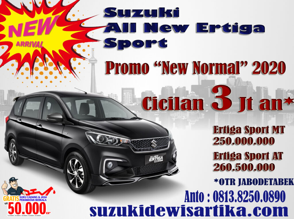 PROMO SUZUKI ERTIGA SPORT NEW NORMAL