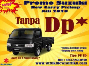 PROMO SUZUKI NEW CARRY PICKUP JULI 2020 TANPA DP