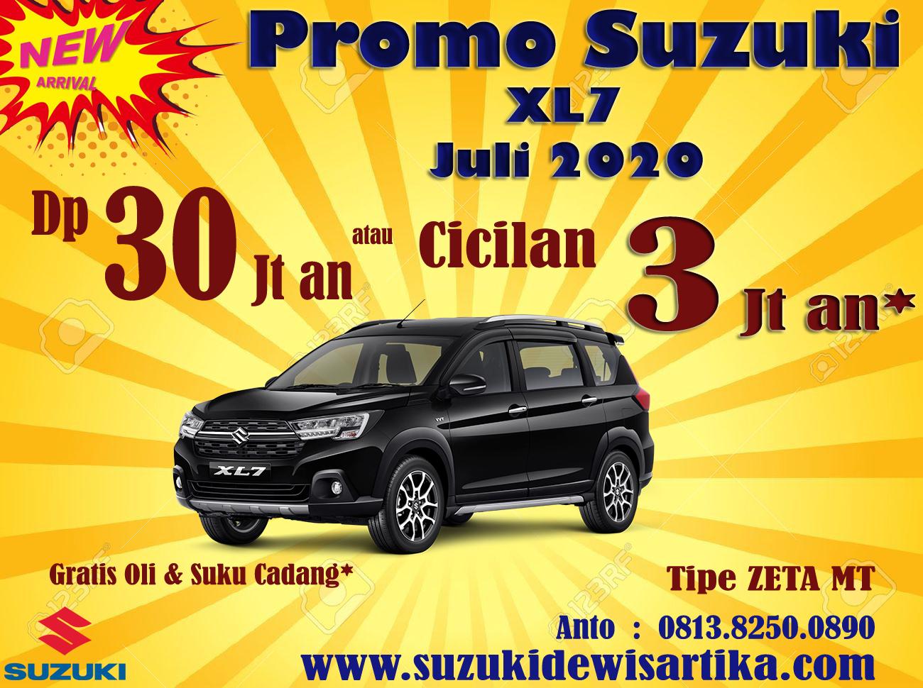 PROMO SUZUKI XL7 JULI 2020