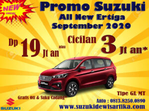 PROMO SUZUKI ALL NEW ERTIGA SEPTEMBER 2020