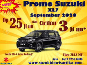 PROMO SUZUKI XL7 SEPTEMBER 2020