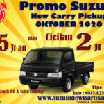 PROMO SUZUKI NEW CARRY PICKUP OKTOBER 2020