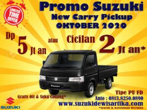 PROMO SUZUKI NEW CARRY PICKUP OKTOBER 2020