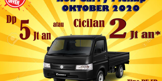 "PROMO SUZUKI CARRY PICKUP, HARGA DAN PAKET KREDIT BULAN OKTOBER 2020<span class=""rating-result after_title mr-filter rating-result-13855"">			<span class=""no-rating-results-text"">No ratings yet.</span>		</span>"