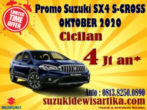 PROMO SUZUKI SX4 S-CROSS OKTOBER 2020