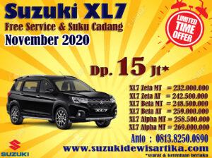 HARGA SUZUKI XL7 BULAN NOVEMBER 2020