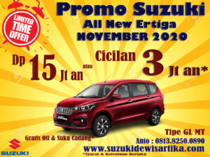 PROMO SUZUKI ALL NEW ERTIGA NOVEMBER 2020