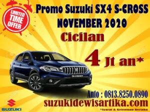 PROMO SUZUKI SX4 S-CROSS NOVEMBER 2020