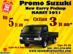 PROMO SUZUKI NEW CARRY PICKUP MARET 2021