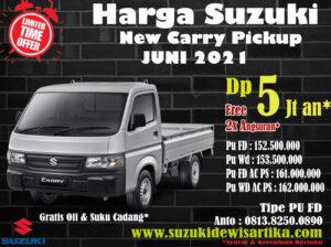 Harga Suzuki Carry Pickup Bulan jUNI 2021