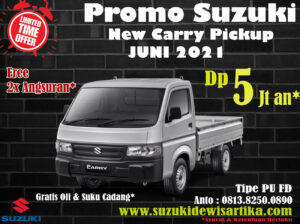 Promo Suzuki Carry Pickup Baru Bulan Juni 2021